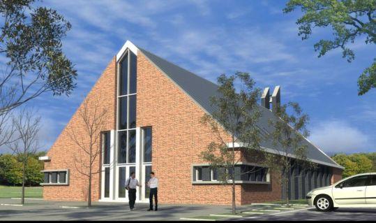 kerkgebouw te Nijkerk (1)