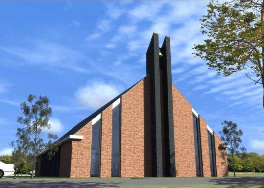 kerkgebouw te Nijkerk (2)